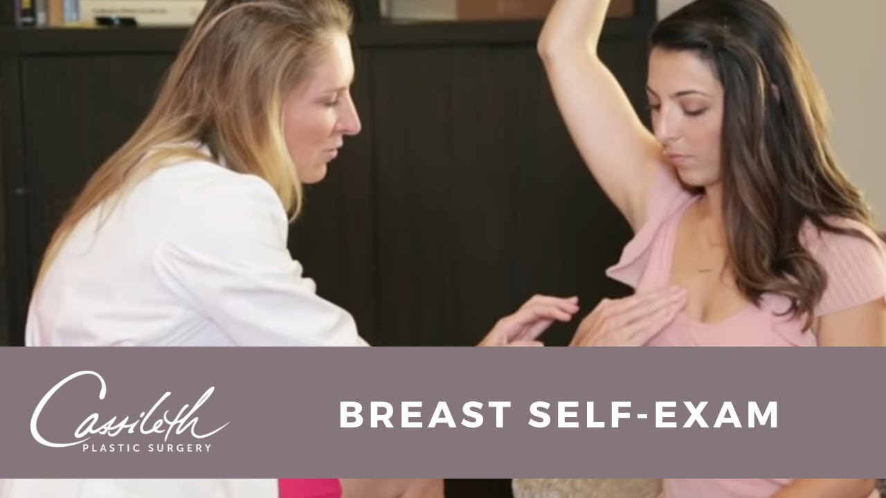 breast exam female video