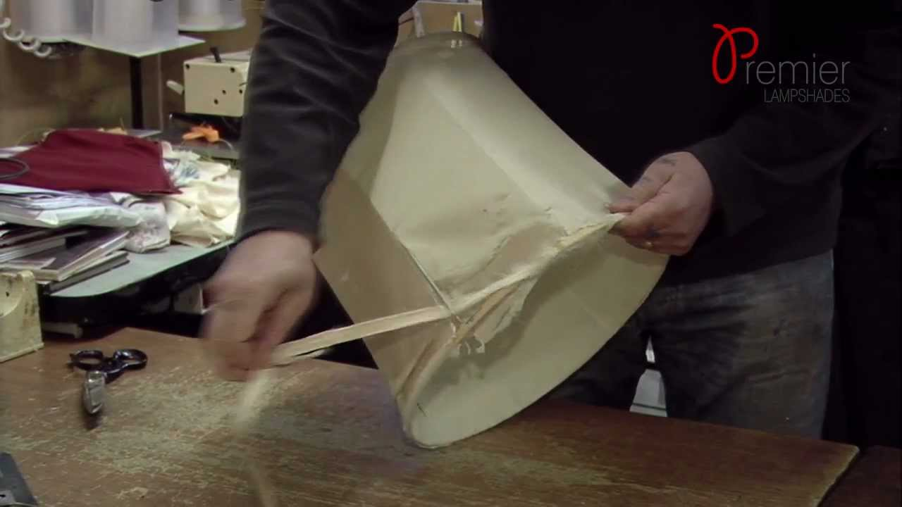 Lamp Shades, Lampshade Repair - Premier Lampshades LTD - YouTube