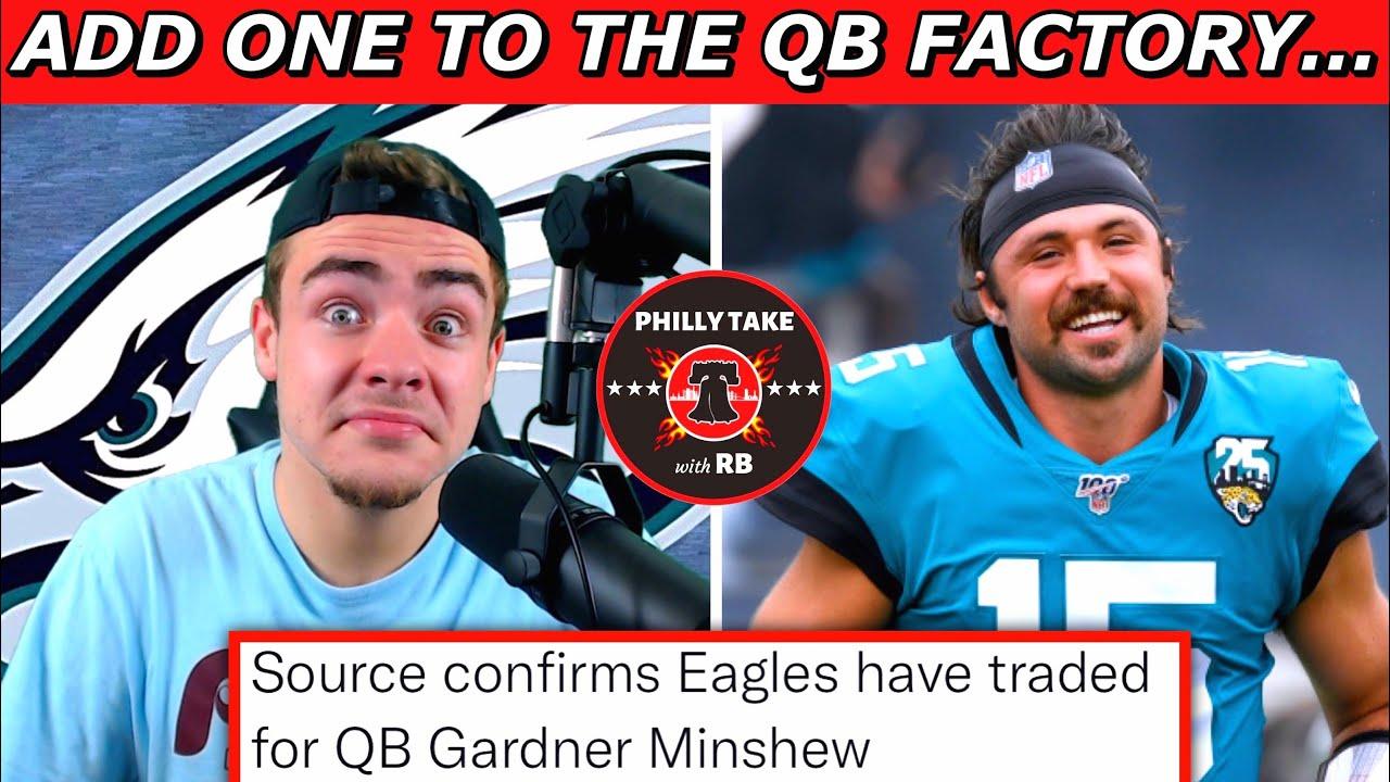 Eagles trade for Gardner Minshew, release Nick Mullens