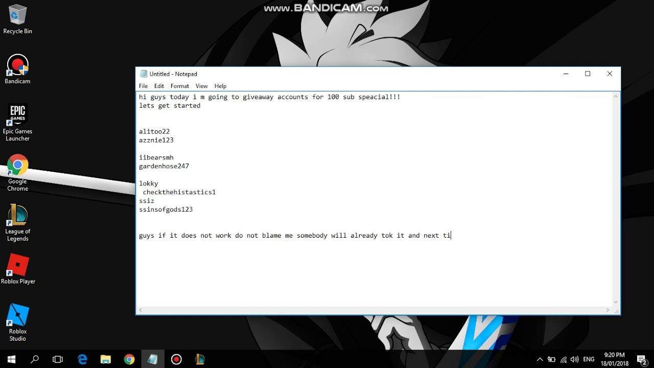 Roblox Free Accounts With Obc 2018 What Is Rxgate Cf