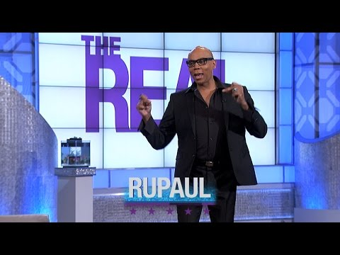 Thursday on 'The Real': RuPaul Is in the House!
