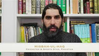 Message from Misbah-ul-Haq