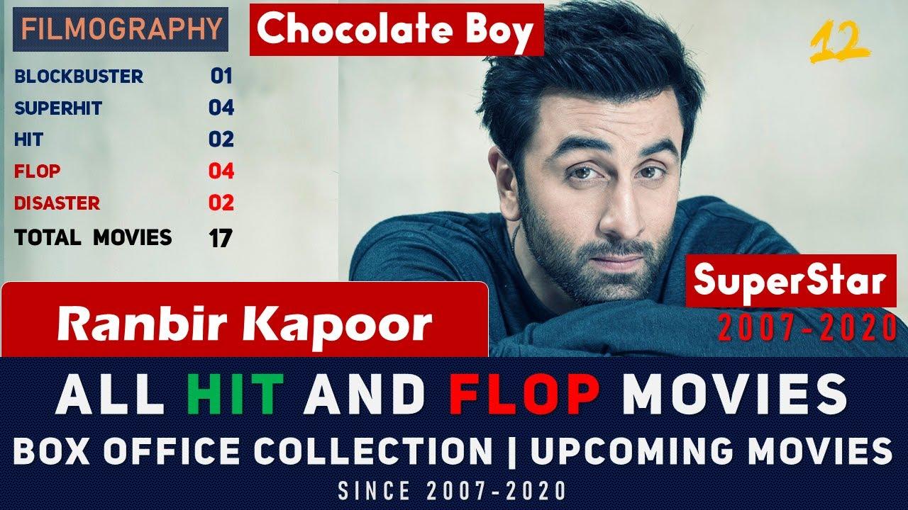 RANBIR KAPOOR FILMOGRAPHY (2007-2020) | All Movies Box ...