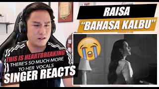 Download lagu Raisa & Andi Rianto - Bahasa Kalbu (Official Music Video) | SINGER REACTION