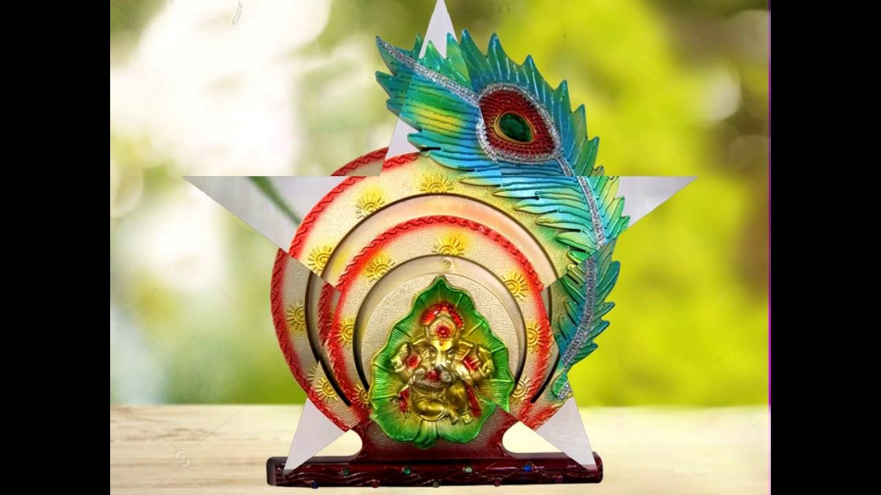 Divya Mantra beautiful Ganesha Wall Hanging - YouTube
