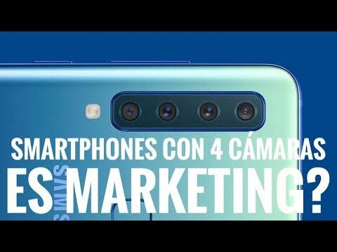 Samsung Galaxy A9 2018 - Tienen Sentido 4 Cámaras en un Smartphone?