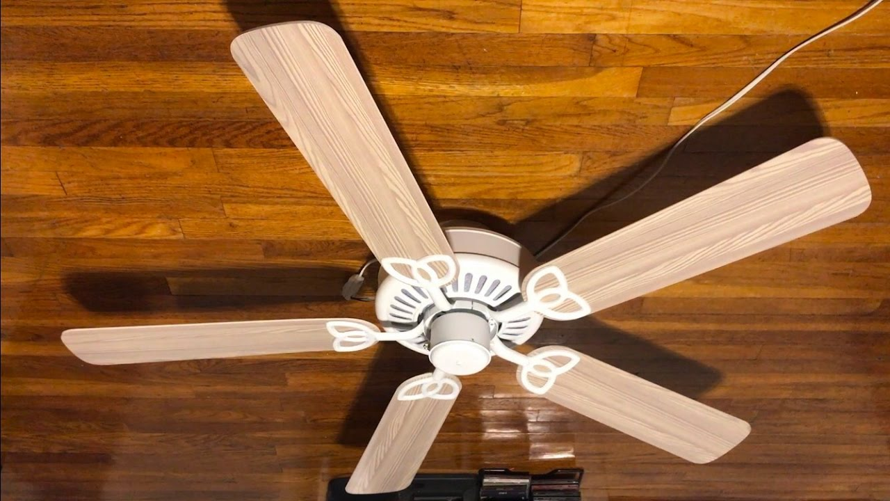 Harbor Breeze Builder S Best Clic Ceiling Fan 52 Whitewash Blades