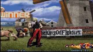 King of Fighters 2002 play as Rugal HD