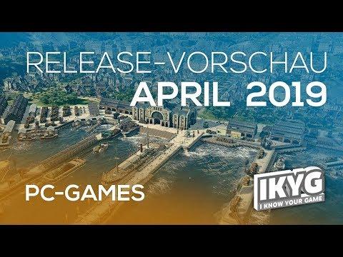 Games-Release-Vorschau - April 2019 - PC