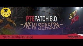 [بيس 2017] تثبيت PTE PATCH 6.0 | باتش الموسم الجديد ⚽✌ |  إضافات رااااائعة 😍🎮 thumbnail