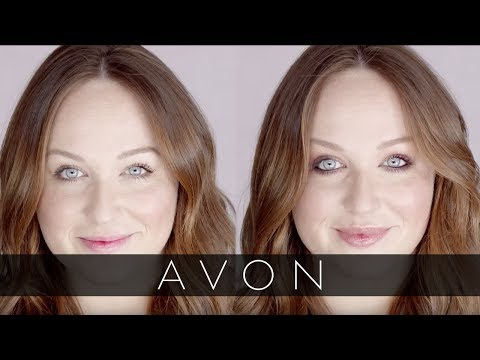 Sophisticated Burgundy Eye Makeup Tutorial | Avon