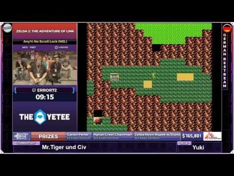 [GER] SGDQ Zelda 2: The Adventure of Link Any% No Scroll Lock (NSL) von ERROR72