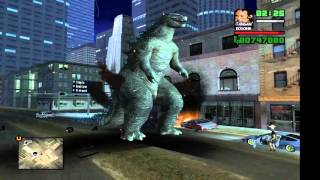 Godzilla vs King kong GTA San andreas Indonesia
