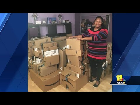 Baltimore City teacher receives truckloads of supplies of celebrity Instagram post