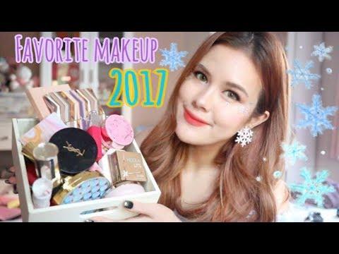 Favorite Makeup of the year!:เครื่องสำอางที่ใช้แล้วชอบประจำปี2017| lily nawiya