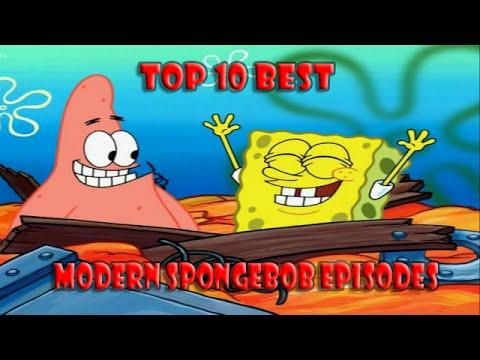 Top 10 Best Modern Season 6 7 and 8 Spongebob Squarepants Episodes  YouTube