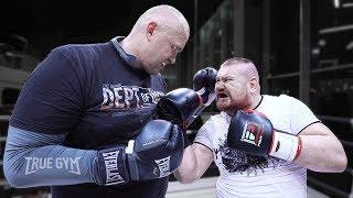 Дацик против Молекулы Ада 170 кг / Он вырубил Дацика наглухо