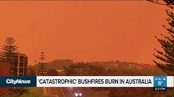 Fires continue to burn in California and Australia