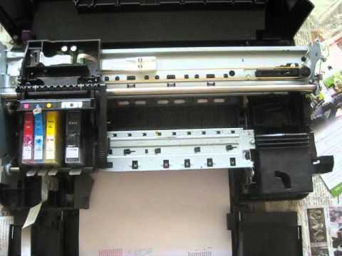 HP PhotoSmart B109n - Printer Error 0x61011bed, 0x610000f6, HP PRINTER  ERROR CODES