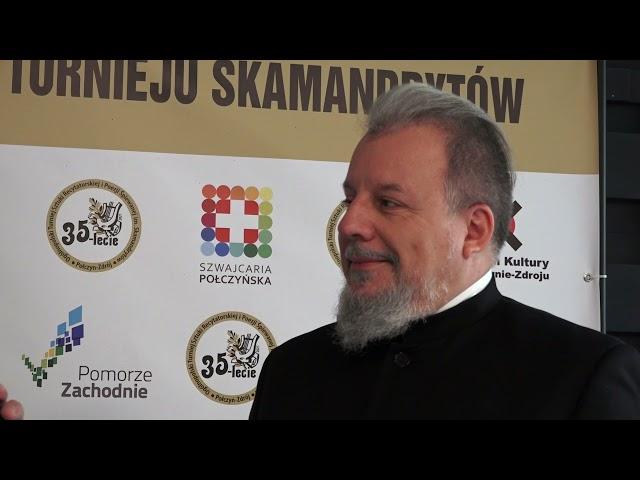 Rozmowa z dr Andrzejem Wątorskim Jurorem 35 Turnieju Skamandrytów