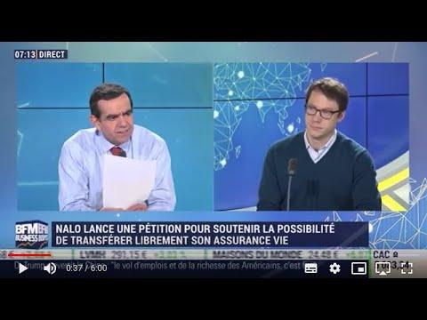 Transférabilité de l'assurance-vie - Interview de Guillaume Piard sur Good Morning Business
