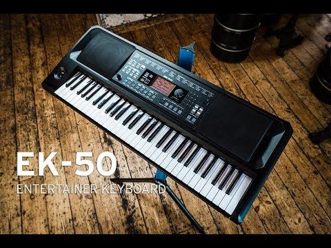 EK-50 Entertainer Keyboard: Overview (part 2)