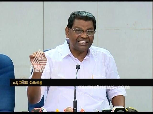 Thiruvanchoor Radhakrishnan accepts CM's One month Salary challenge