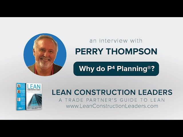 Why do P4 Planning?