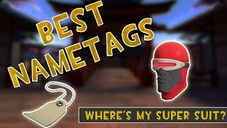 [TF2] The BEST Way To Use A Name Tag... (Funny Nametags)