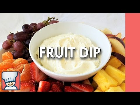 How to make fruit dip