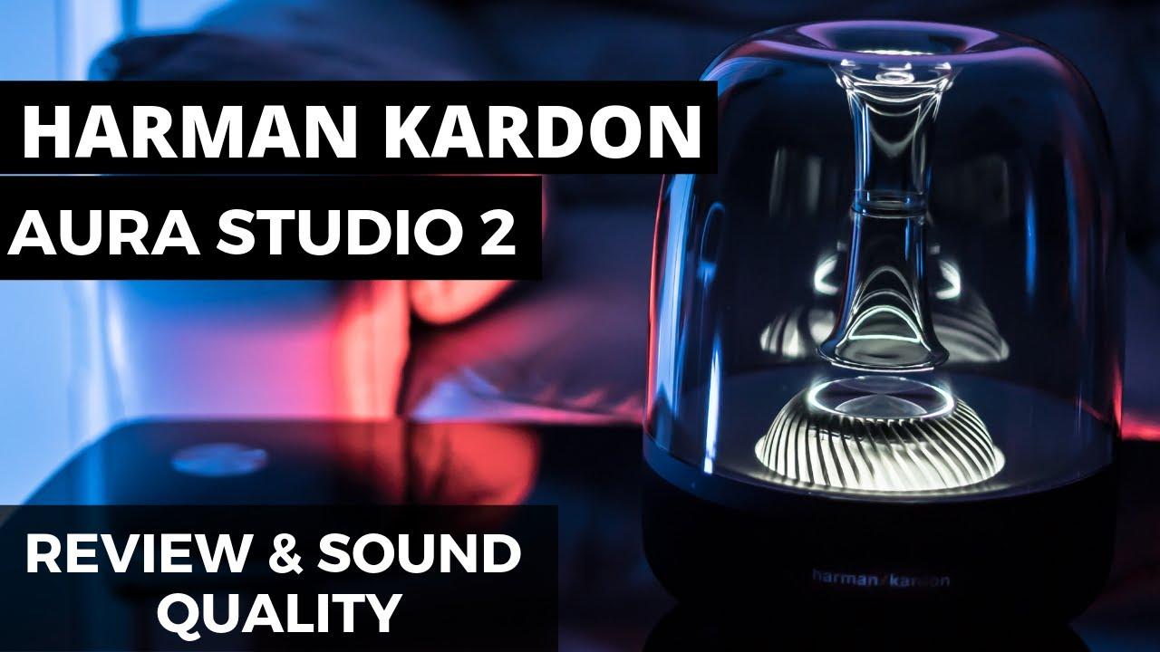 Harman Kardon Aura Studio 2 Bluetooth Speaker System-BLACK