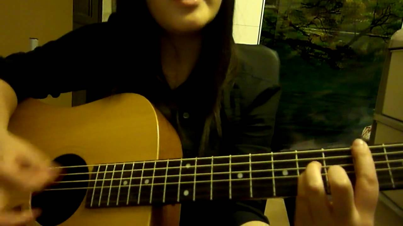 Cancer By My Chemical Romance Acoustic Guitar And Vocal Cover