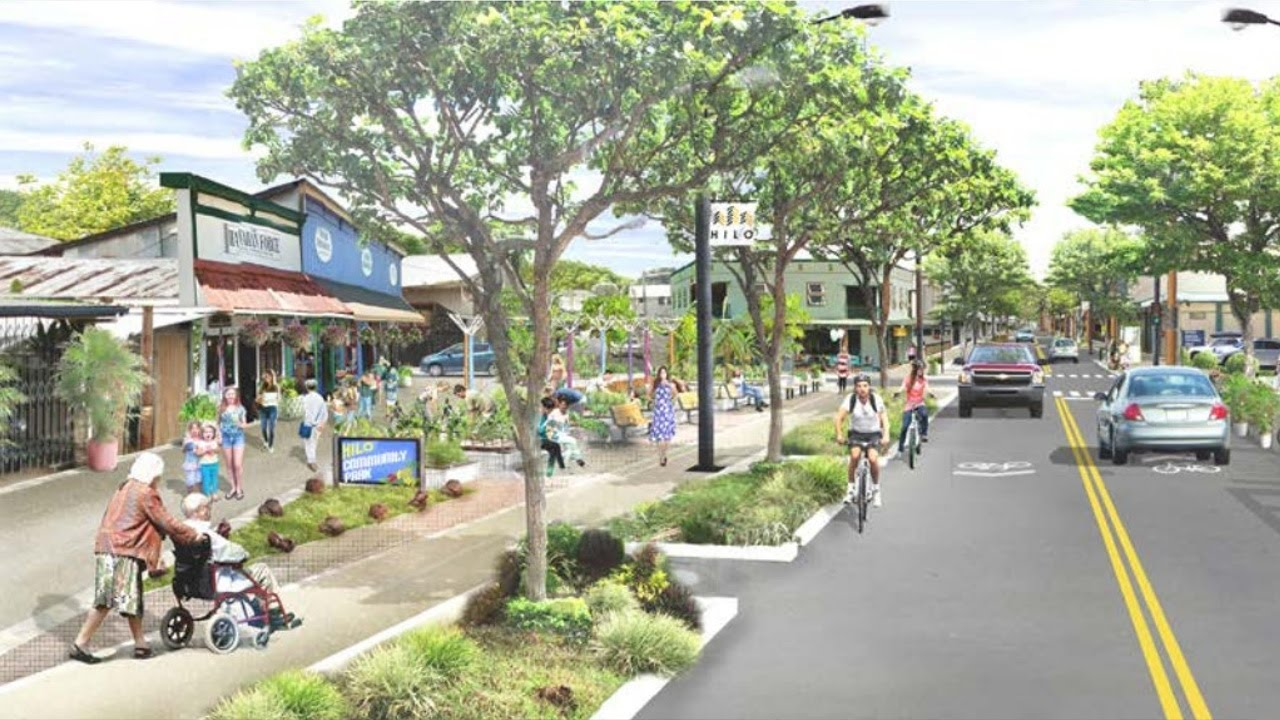 future downtown hilo plans rendered feb 21 2017 youtube