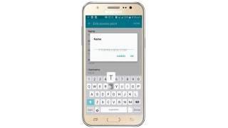 tata docomo 2g 3g 4g lte apn internet settings for samsung galaxy j7 create manually tutorial