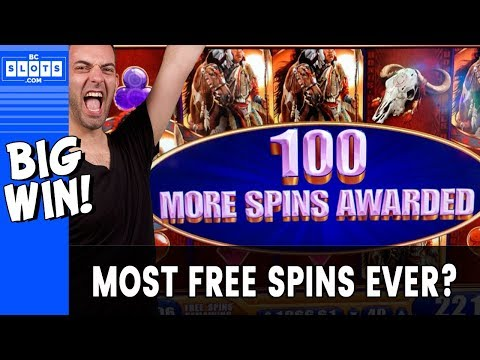 🎰 Most FREE SPINS EVER? 💰 $1800 @ El Cortez Casino ✪ BCSlots (S. 6 • Ep. 2)