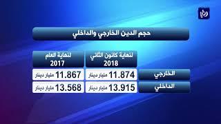 ارتفاع الدين العام لنهاية كانون الثاني الى 27.4 مليار دينار - (19-3-2018)