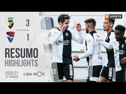SC Farense Gil Vicente Goals And Highlights