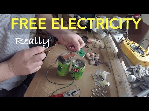 FREE ELECTRICITY - Cement Battery Works
