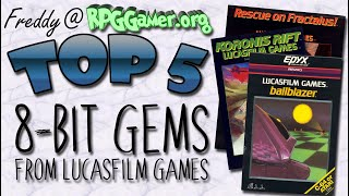 Top Five: 8-Bit Gems from LucasFilm Games
