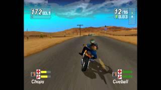Road Rash Jailbreak - Cutscenes & Gameplay Playstation (1999)