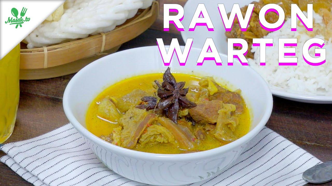 Resep Rawon Tegal - seperti di Warteg