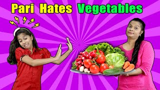Pari And Vegetables Ki Luka Chupi | Funny Video | Short Film| Pari's Lifestyle`