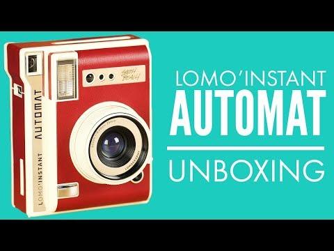 Lomo'Instant Automat Unboxing