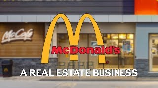 McDonalds Is Actually A Real Estate Business | BusinessKast