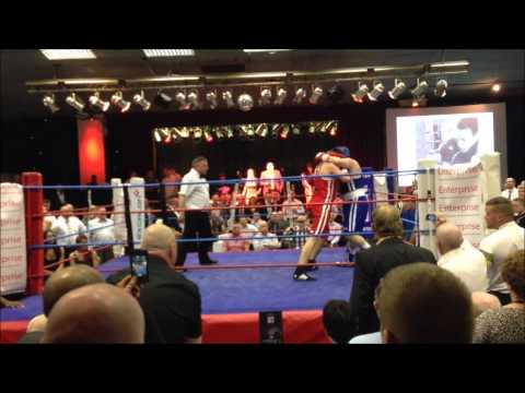Fighting for a cause - Tom Gallagher vs Mike Flynn