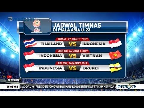Indonesia Berburu Tiket Piala Asia U-23 2020