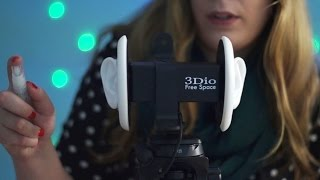 Binaural ASMR. All Around Your Head (3Dio Free Space Mic Test)