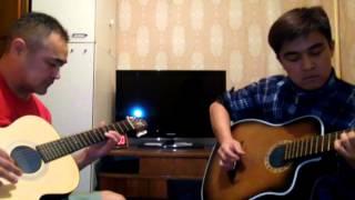 Рысбаев Жакшылык-медляк на двух гитарах