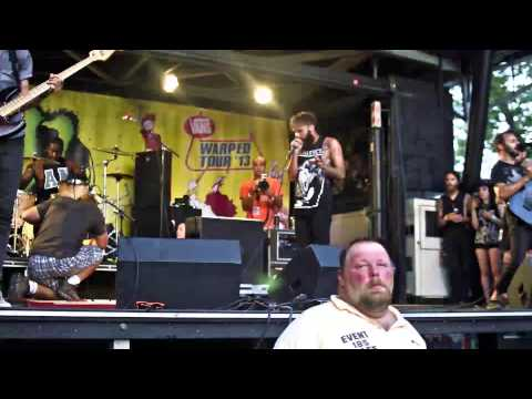 Letlive   Muther LIVE @ Warped Tour   Scranton, PA [HD]