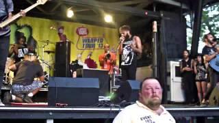 Letlive   Muther LIVE @ Warped Tour   Scranton, PA [HD]